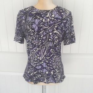 St. John top size medium